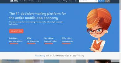 App Annie營運智能應用程式及遊戲的最佳拍檔