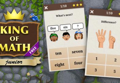 King of Maths Junior – 寓教於樂的兒童數學App